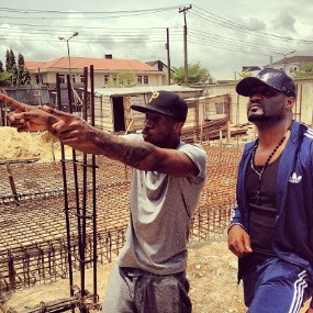 P Square's Mansion At Parkview Under Construction To Cost Over N200m