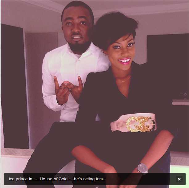 ICE PRINCE DENIES DATING YVONNE NELSON